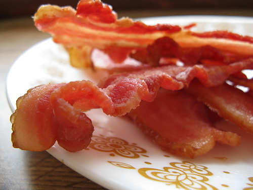 Its bacon!